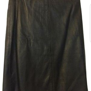 Leather skirt All Saints